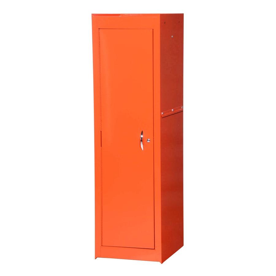 International Tool Storage Tech 15.4-in W x 52-in H x 18.25-in D Orange Steel Full Storage Locker