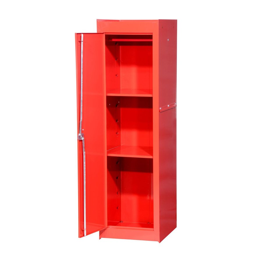 International Tool Storage Tech 15.4-in W x 52-in H x 18.25-in D Red Steel Full Storage Locker