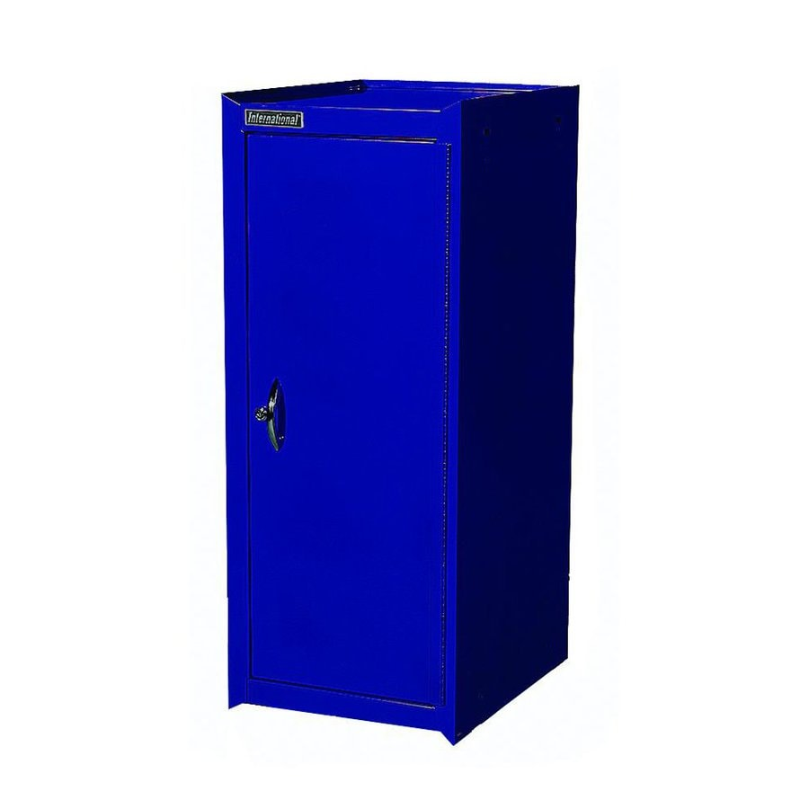 International Tool Storage Classic 15-in W x 37.06-in H x 18.75-in D Blue Steel Half Storage Locker