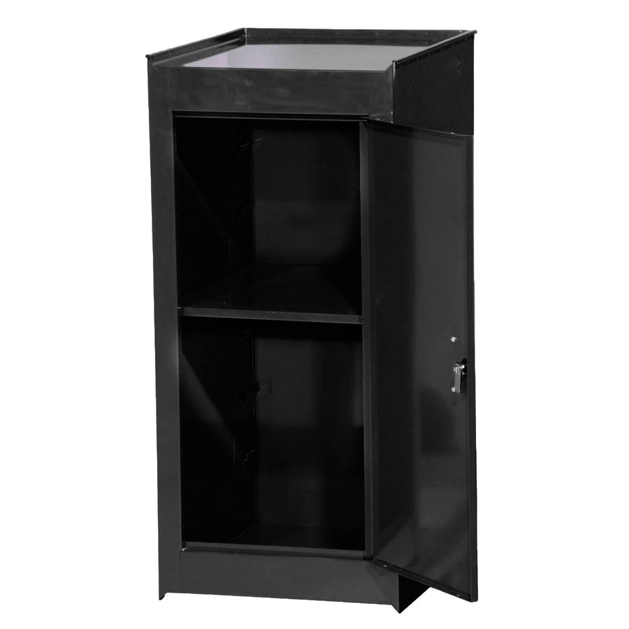 International Tool Storage Tech 14-in W x 33.5-in H x 18-in D Black Steel Half Storage Locker