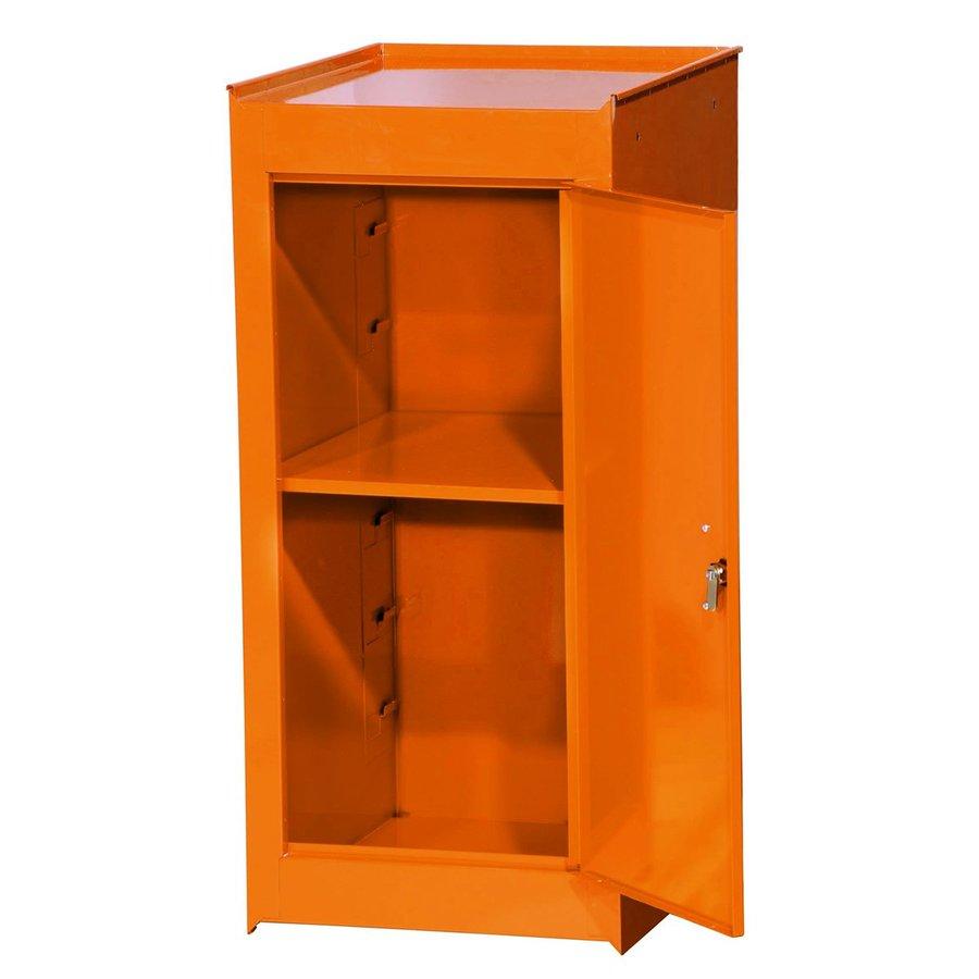 International Tool Storage Tech 14-in W x 33.5-in H x 18-in D Orange Steel Half Storage Locker