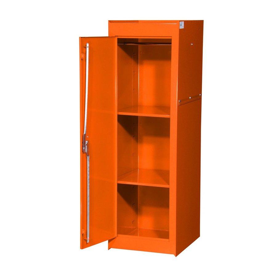 International Tool Storage Tech 15-in W x 51-in H x 24-in D Orange Steel Full Storage Locker