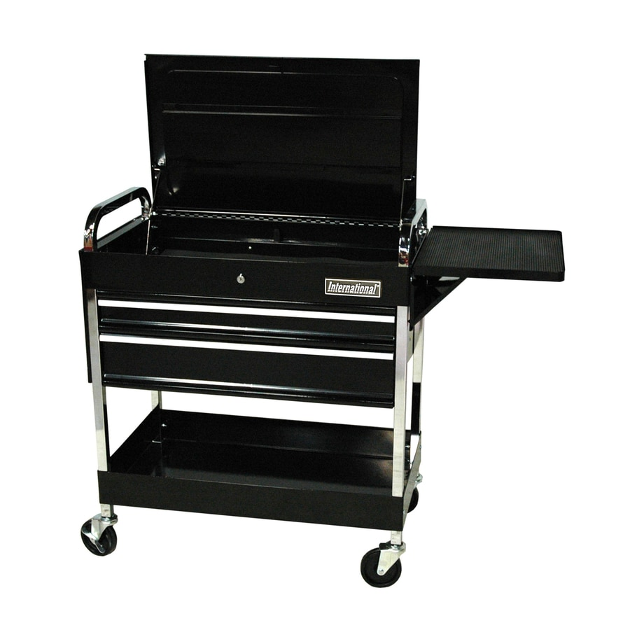International Tool Storage 36-in 2-Drawer Utility Cart