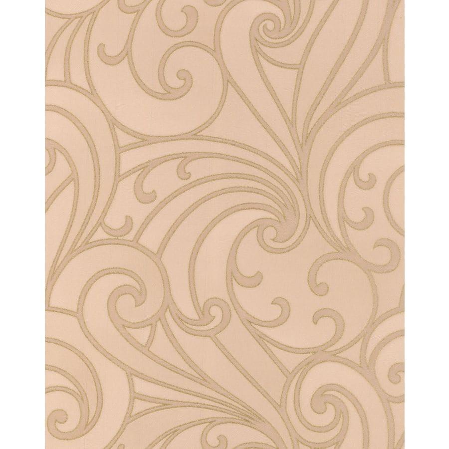 Graham & Brown Ulterior Sand Vinyl Textured Scroll Wallpaper
