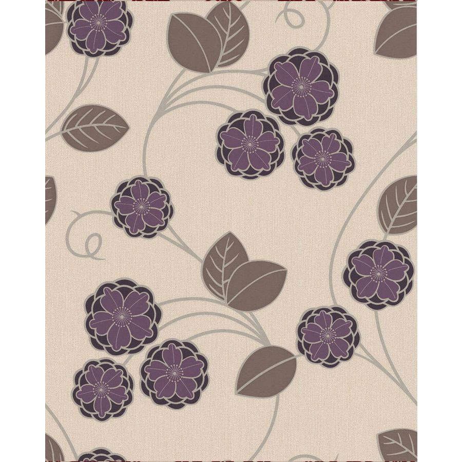 Superfresco Easy Plum Paper Floral Wallpaper