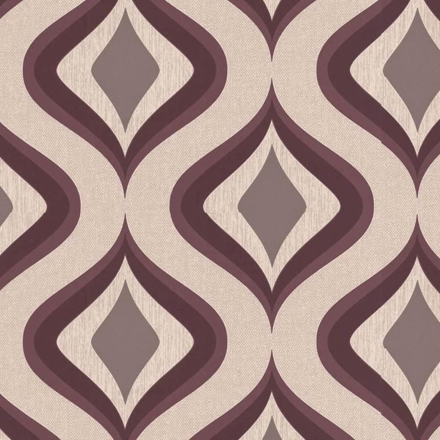Superfresco Easy Purple Paper Geometric Wallpaper
