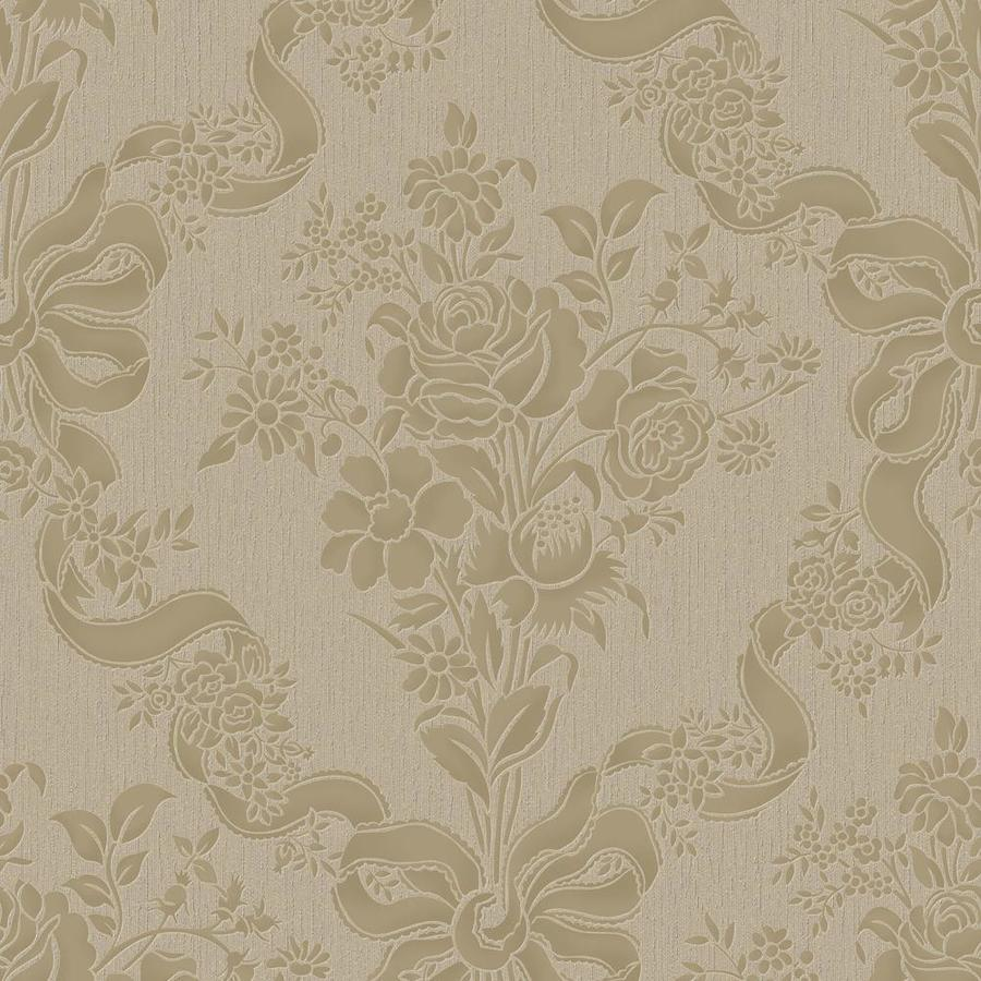 Graham & Brown Julien MacDonald 56-sq ft Beige Vinyl Textured Damask  Wallpaper