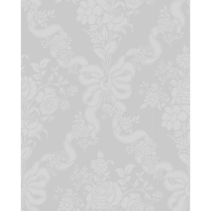 Graham & Brown White Paper Floral Wallpaper