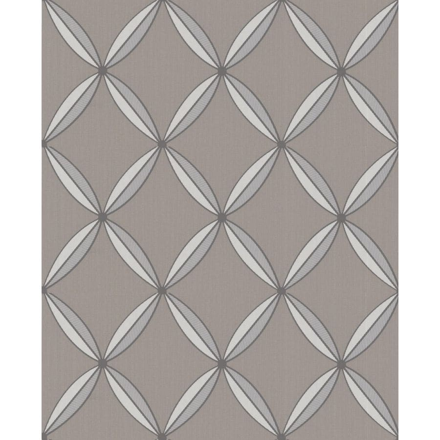 Superfresco Easy Taupe Paper Geometric Wallpaper
