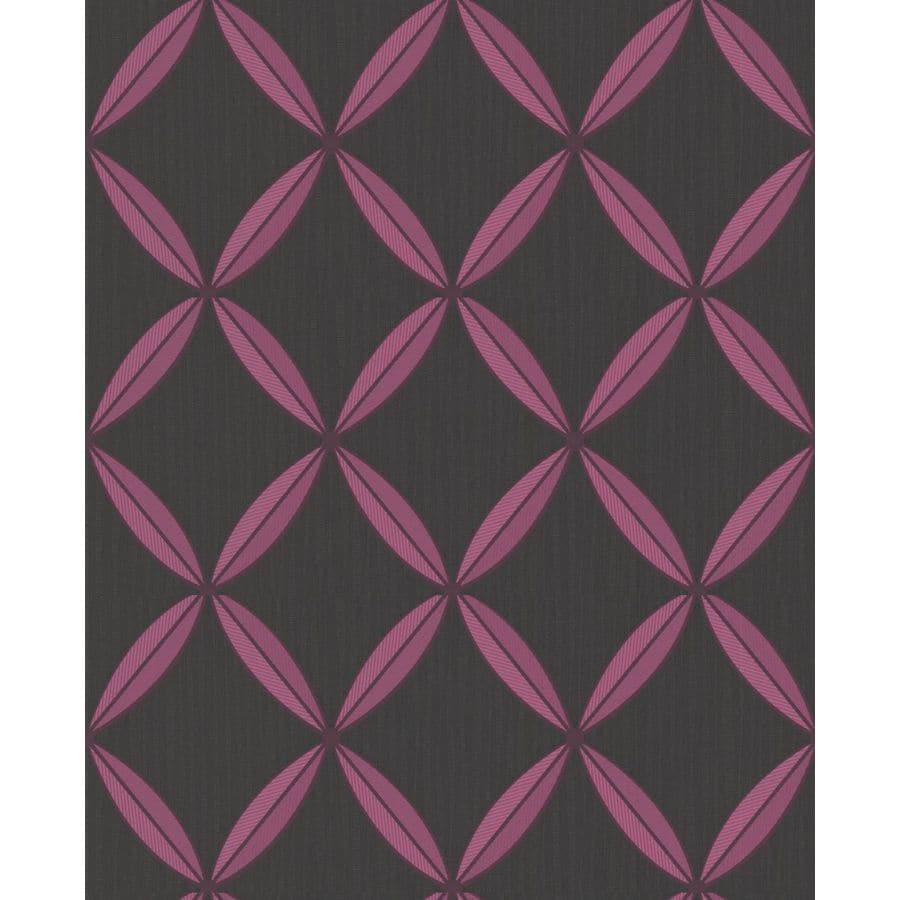 Superfresco Easy Inference Raspberry Vinyl Textured Geometric Wallpaper