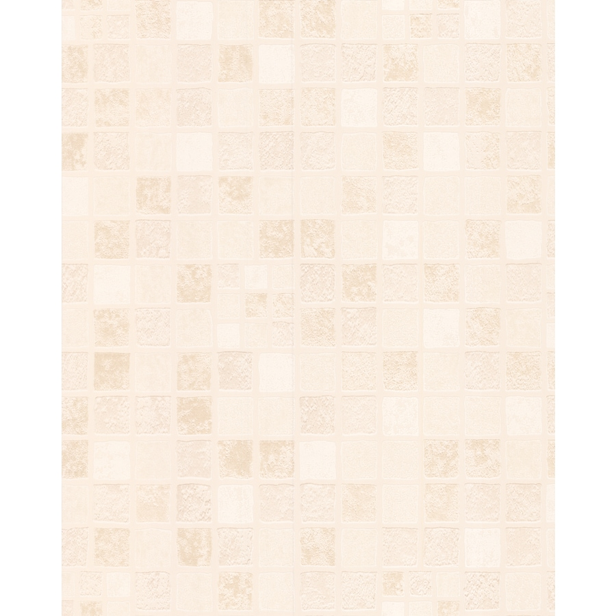 Style Selections Essentials Beige Paper Textured Tile Wallpaper
