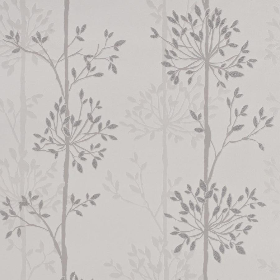 Superfresco Easy Pearl White/Mica/Grey Vinyl Textured Scenic Wallpaper