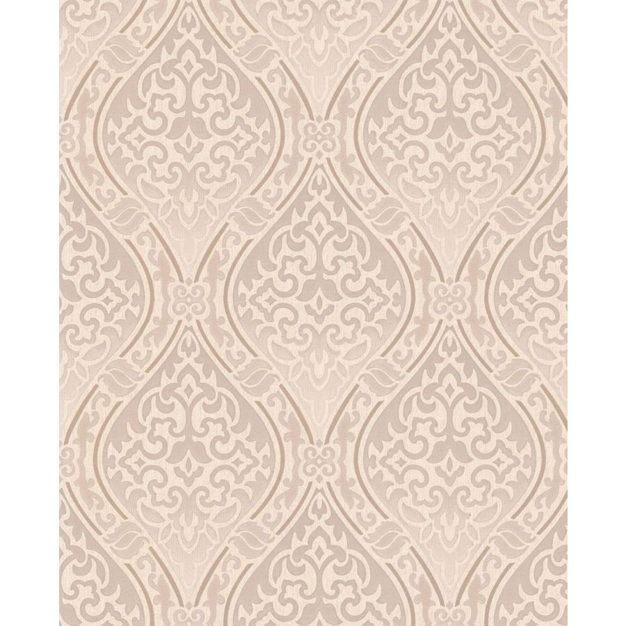 Graham & Brown Beige Paper Damask Wallpaper