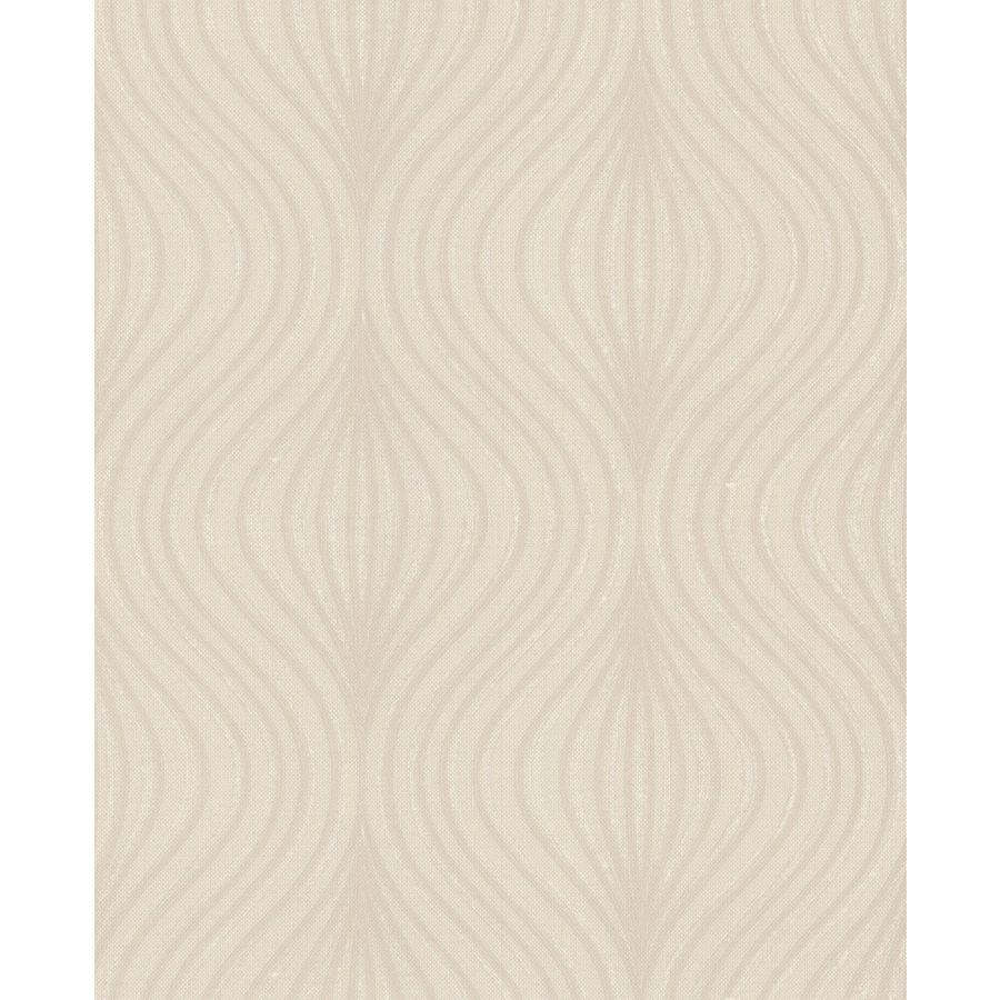 Graham & Brown Hermitage Beige Vinyl Textured Geometric Wallpaper