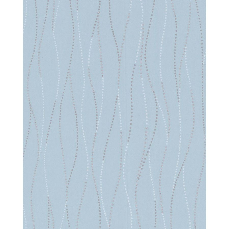 Superfresco Easy Blue Paper Geometric Wallpaper
