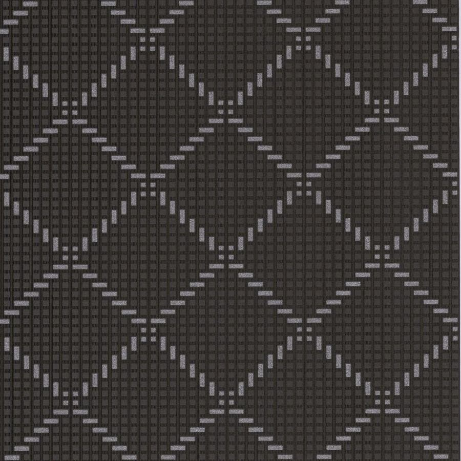 Graham & Brown Odyssey Black Vinyl Textured Geometric Wallpaper
