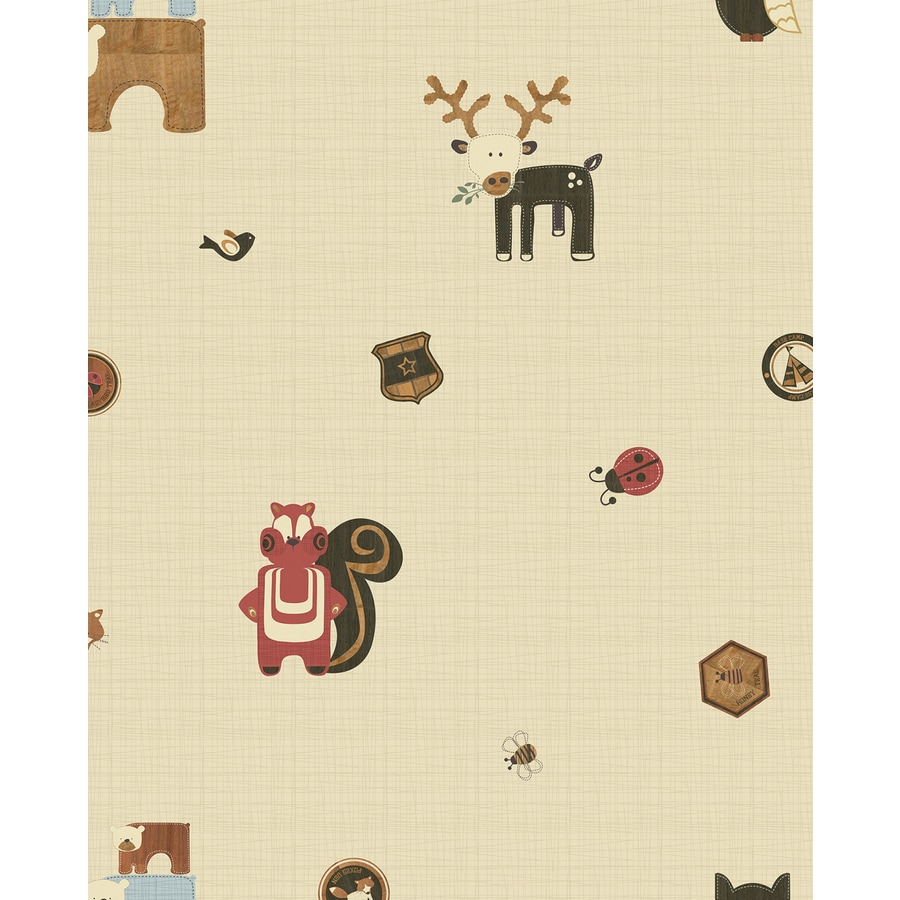 Graham & Brown Kids At Home Multicolor Paper Scenic Wallpaper