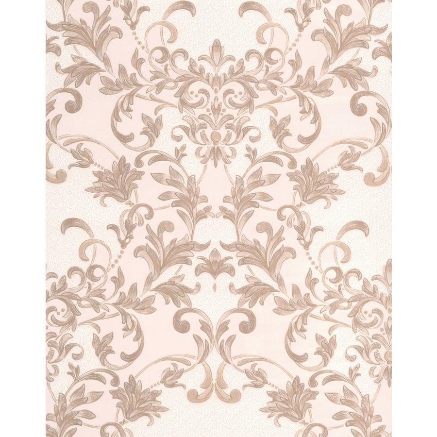 Graham & Brown Renaissance Sandstone Vinyl Textured Damask Wallpaper