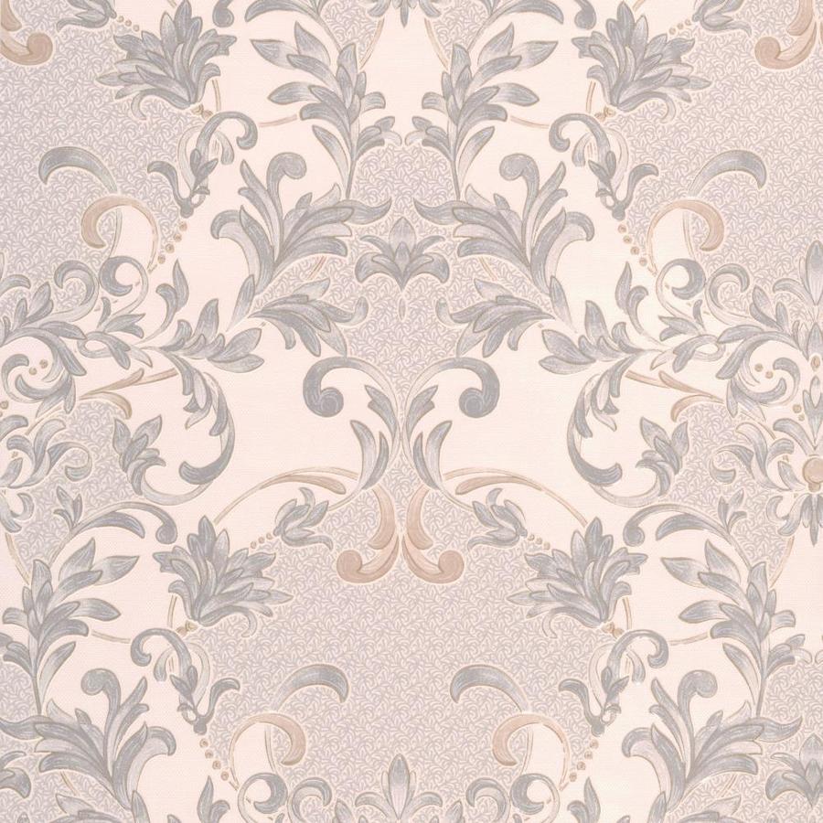Superfresco Renaissance Dove Vinyl Textured Damask Wallpaper