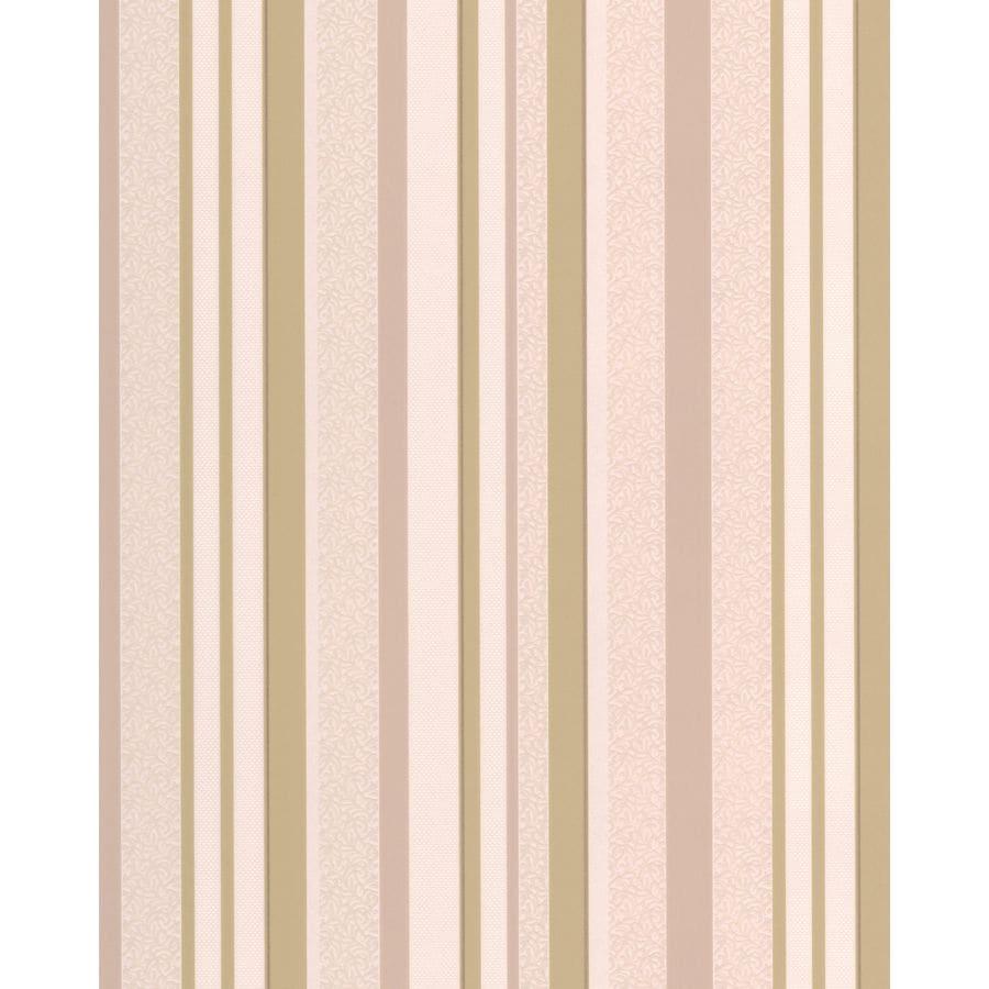 Superfresco Soft Green/Cream Vinyl Stripes Wallpaper