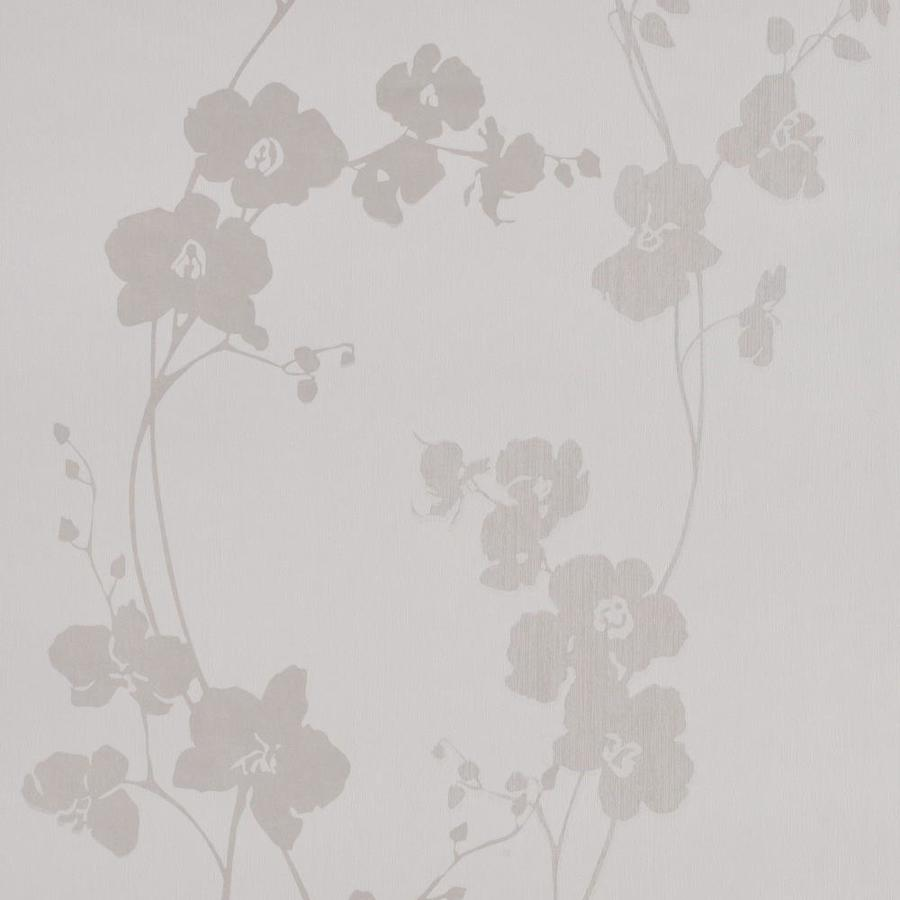 Graham & Brown Cream Paper Floral Wallpaper