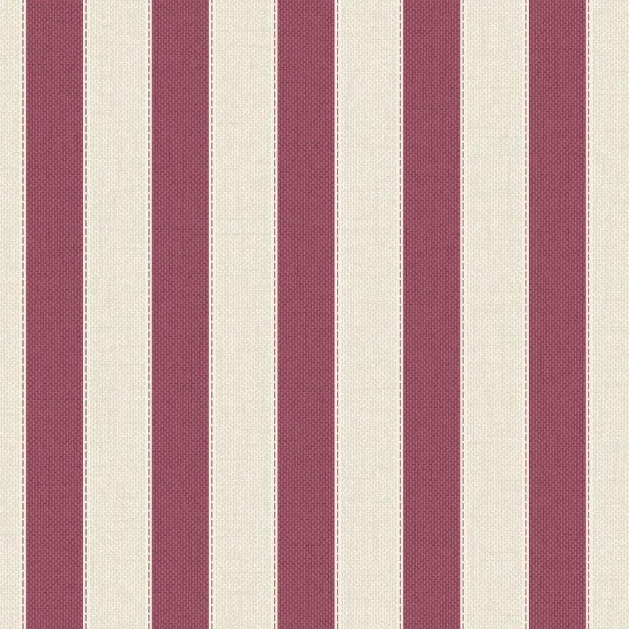 Graham & Brown Fabric Russet Vinyl Textured Stripes Wallpaper