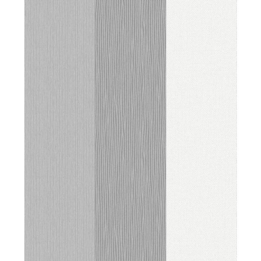 Graham & Brown Fabric Greys Vinyl Textured Stripes Wallpaper