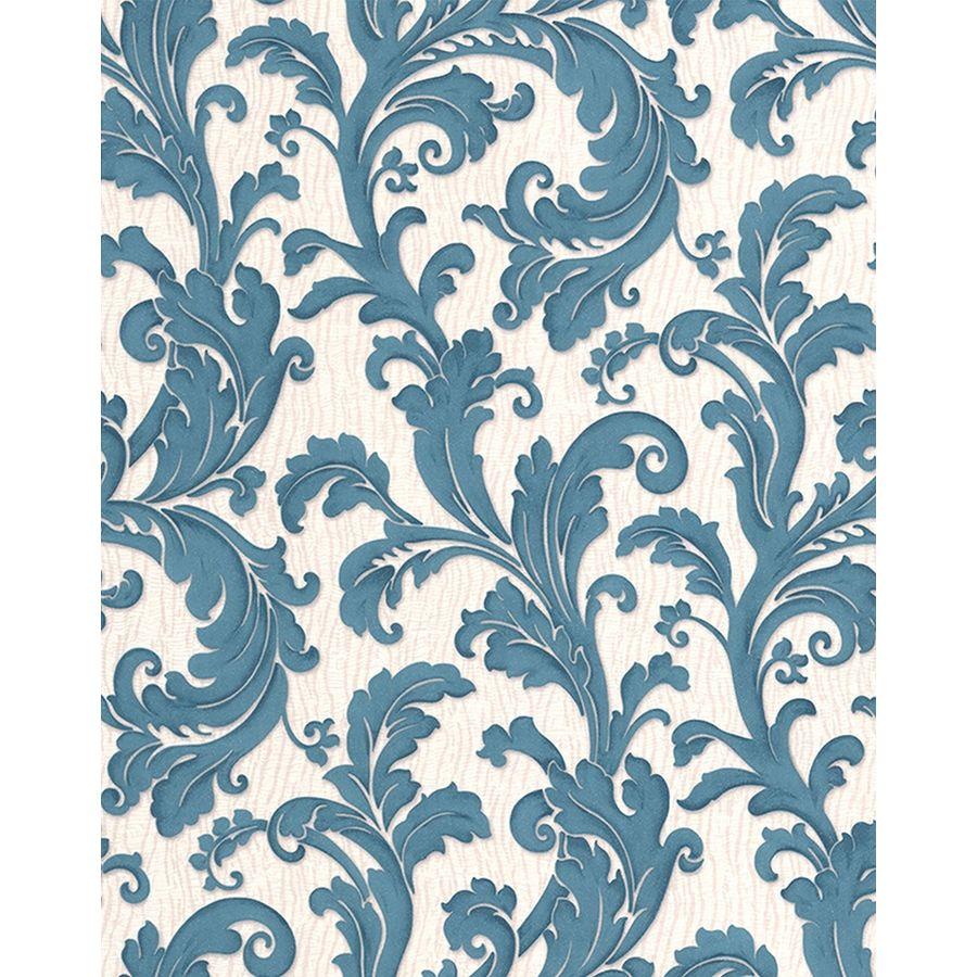 Graham & Brown Teal Paper Ivy/Vines Wallpaper