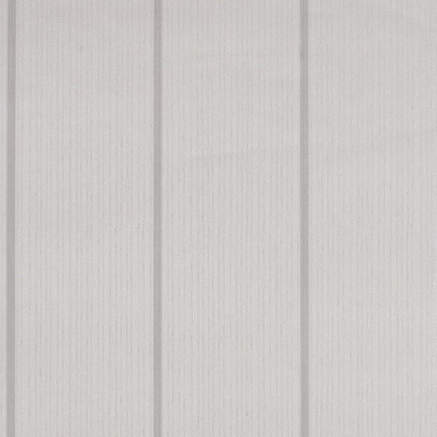 Graham & Brown Solace White/Mica Vinyl Textured Stripes Wallpaper