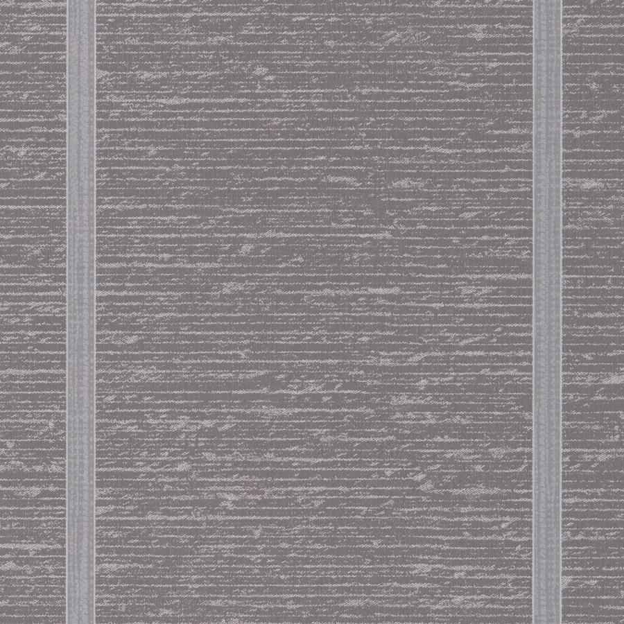 Graham & Brown Solace 56-sq ft Charcoal Vinyl Textured Stripes Wallpaper