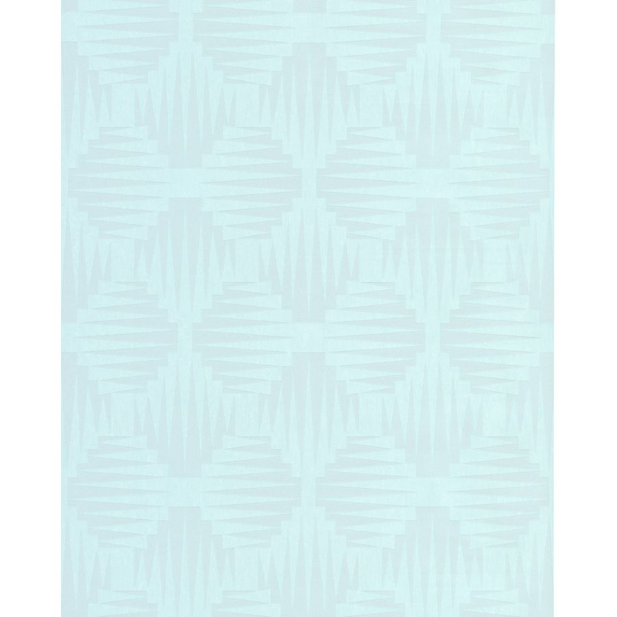 Superfresco Easy Solace Mint Vinyl Textured Geometric Wallpaper