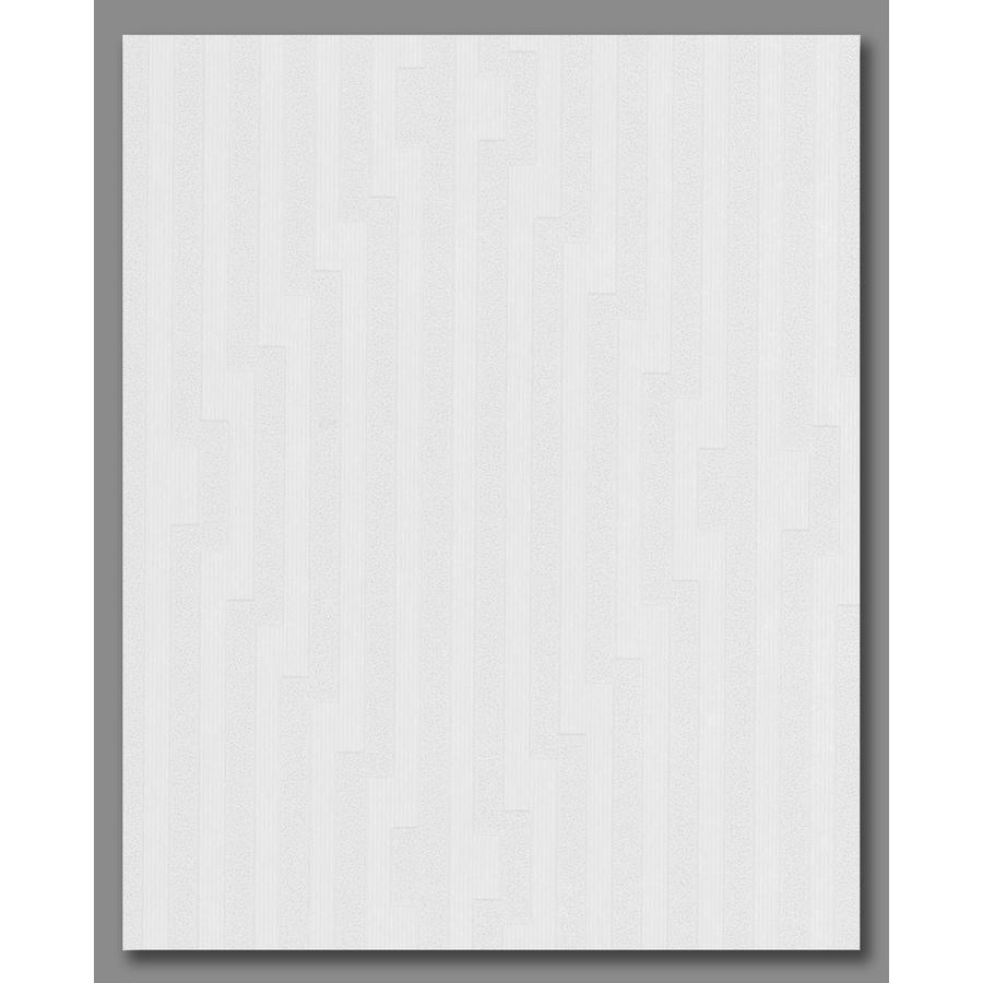 Superfresco Easy White/Mica Paper Stripes Wallpaper
