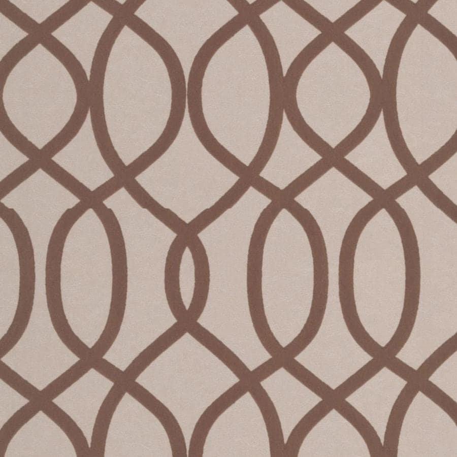 Graham & Brown Taupe Paper Geometric Wallpaper
