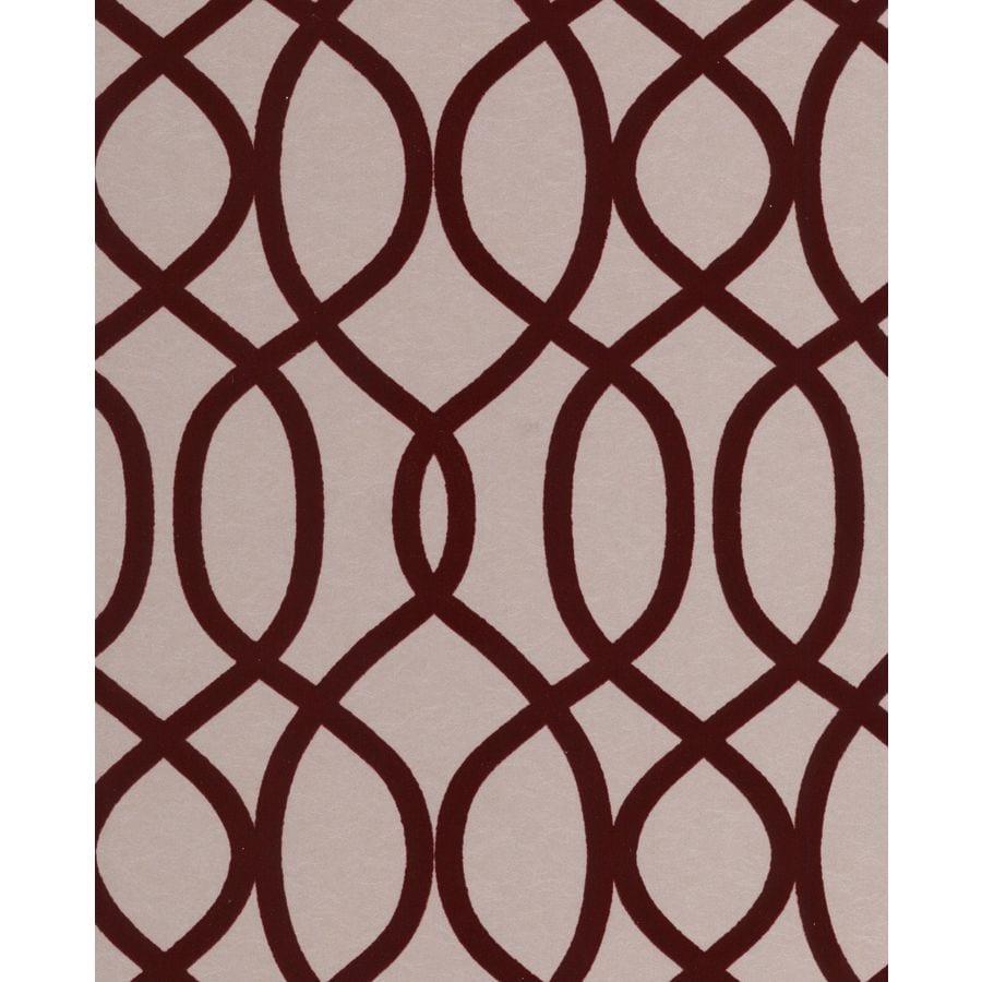 Graham & Brown Russet Paper Geometric Wallpaper