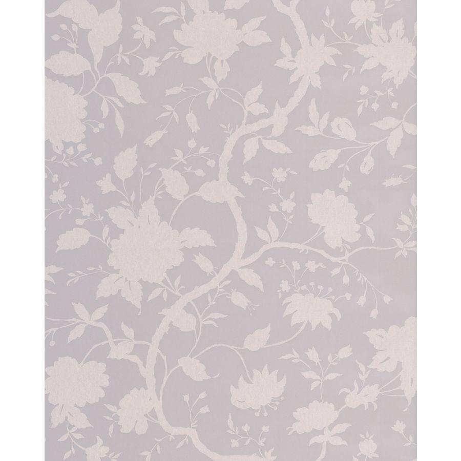 Graham & Brown Soft Grey Paper Floral Wallpaper