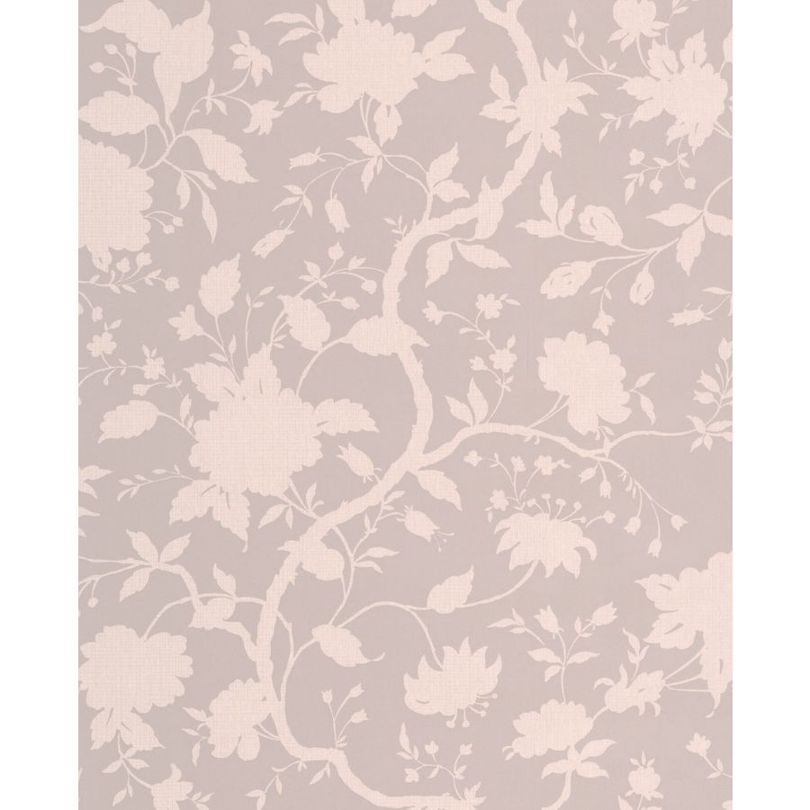 Graham & Brown Taupe Paper Floral Wallpaper