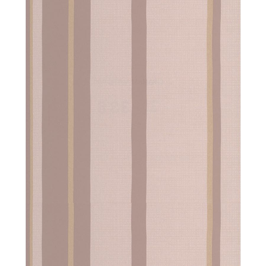 Graham & Brown Taupe/Gold Paper Stripes Wallpaper