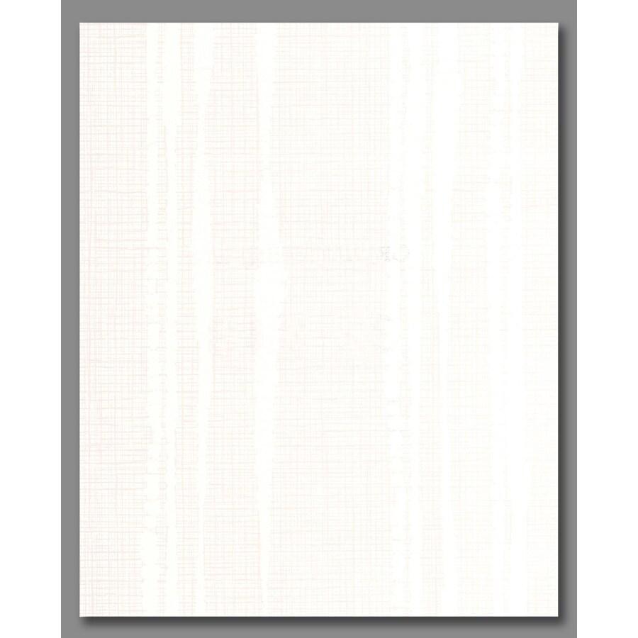 Graham & Brown Kelly Hoppen White Vinyl Textured Stripes Wallpaper