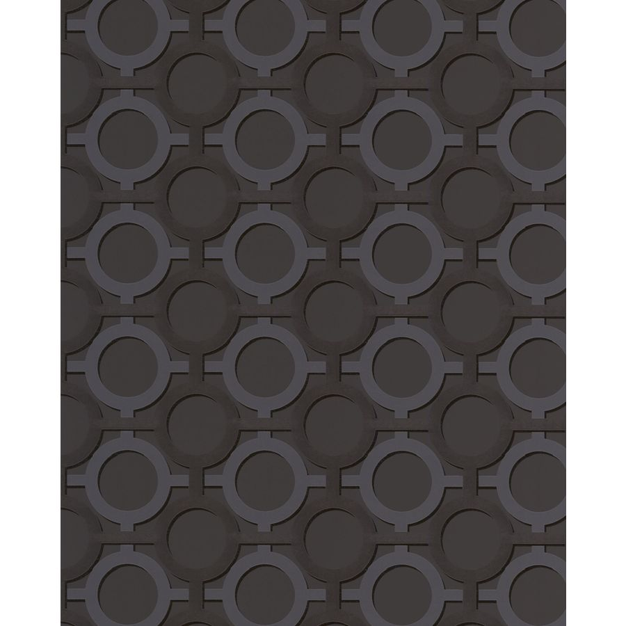 Graham & Brown Noir Paper Geometric Wallpaper