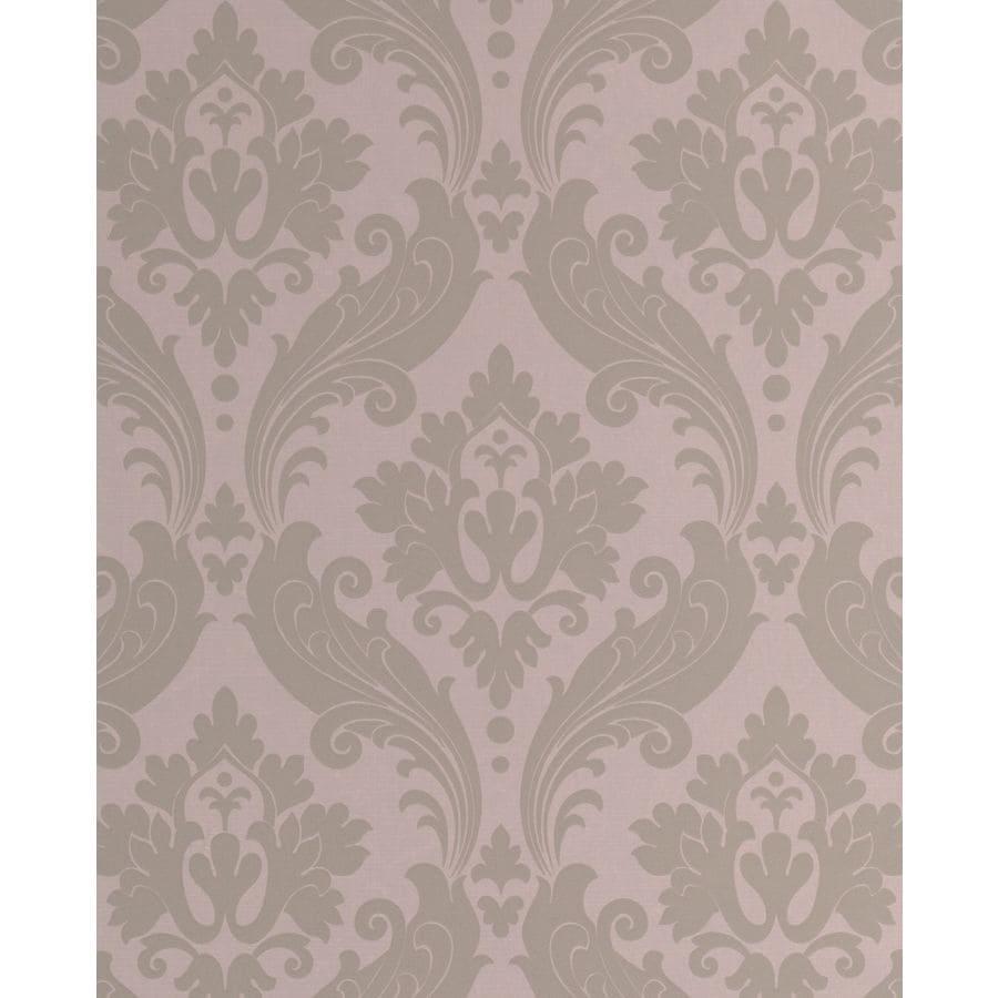 Graham & Brown Moss Cream Paper Damask Wallpaper
