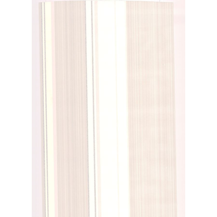 Superfresco Easy Pearl White/Mica Vinyl Textured Stripes Wallpaper