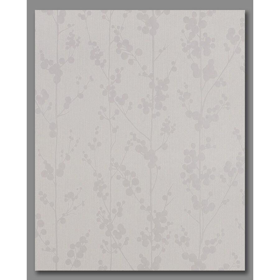 Superfresco Easy White/Mica Paper Ivy/Vines Wallpaper
