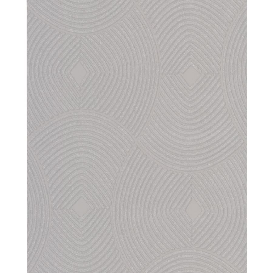Graham & Brown Silver Paper Geometric Wallpaper