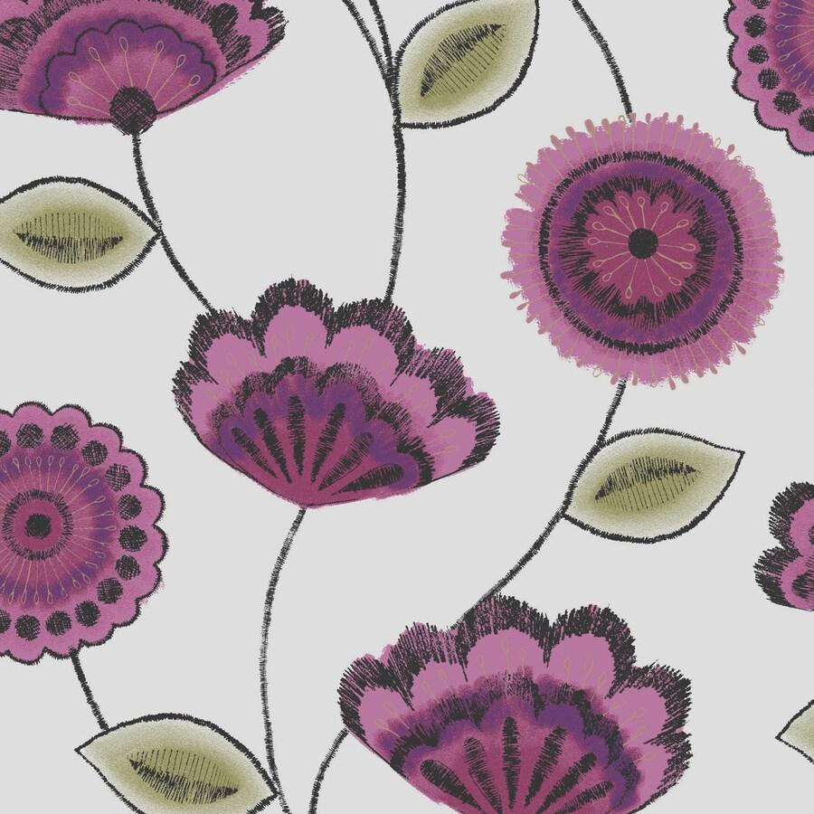 Superfresco Pink Paper Stripes Wallpaper