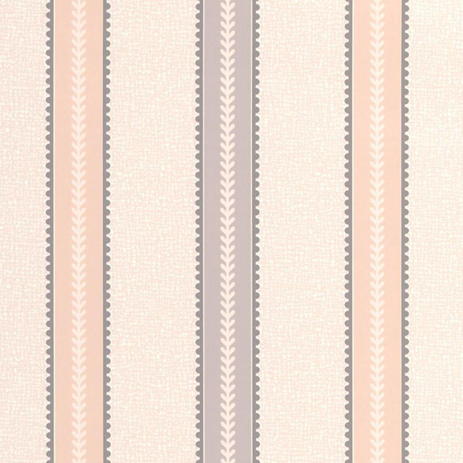 Superfresco Bohemia Brown Vinyl Textured Stripes Wallpaper