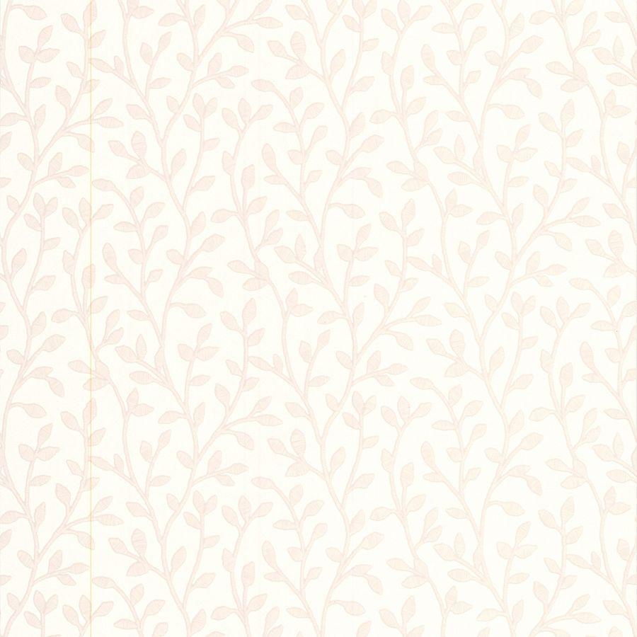 Superfresco Bohemia White Vinyl Textured Floral Wallpaper