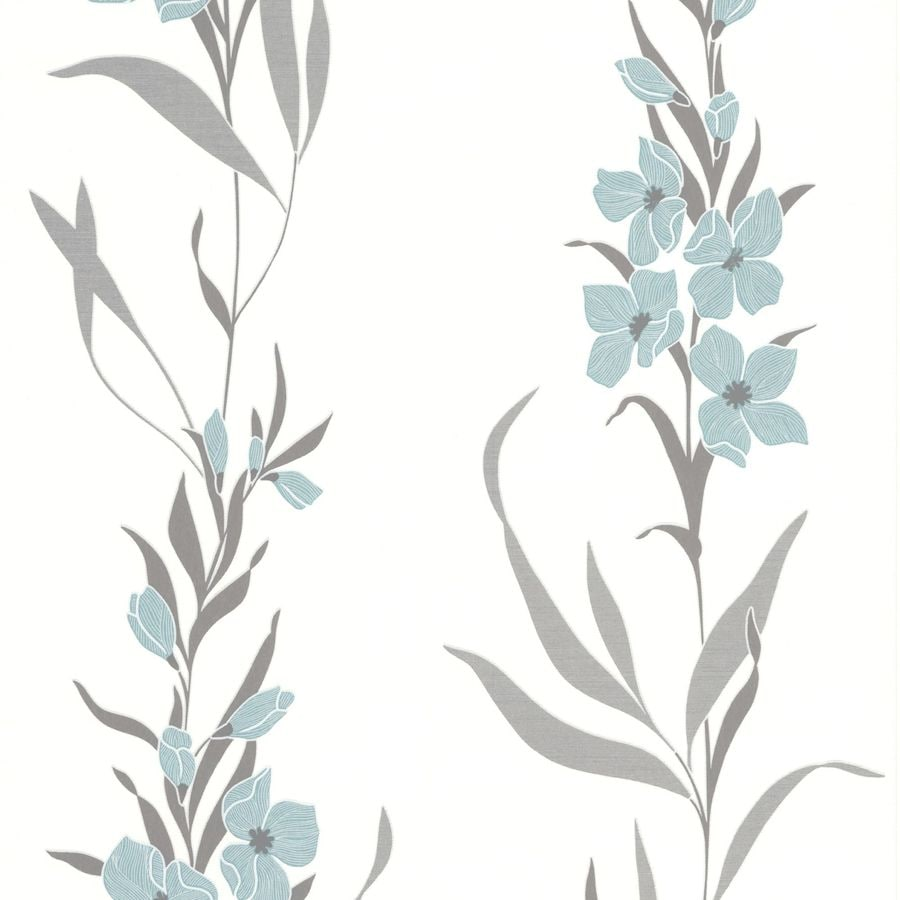 Superfresco Easy Blue Paper Floral Wallpaper