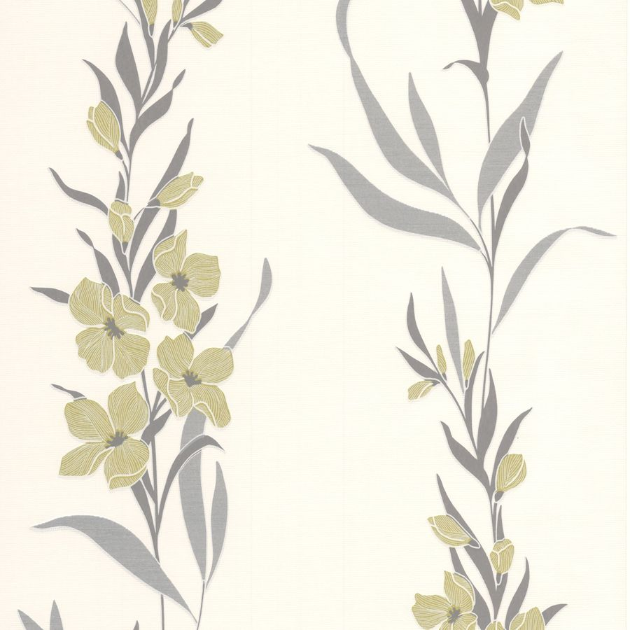 Superfresco Easy Green Paper Floral Wallpaper
