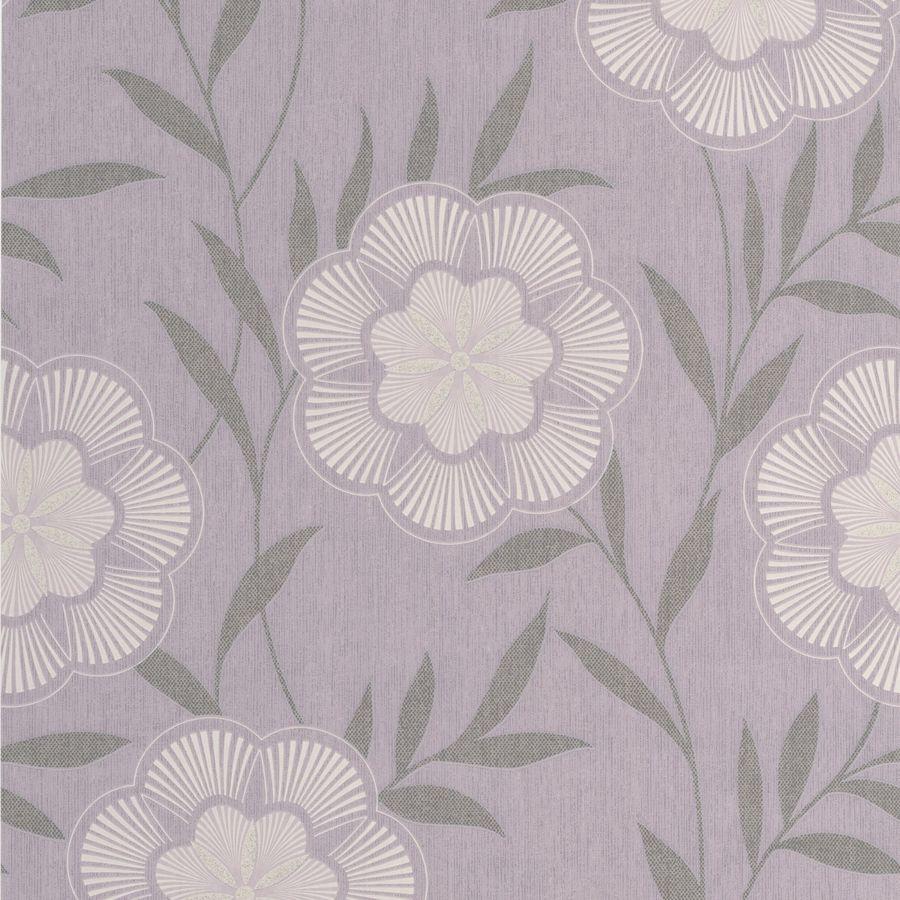 Superfresco Easy Lavender Paper Floral Wallpaper