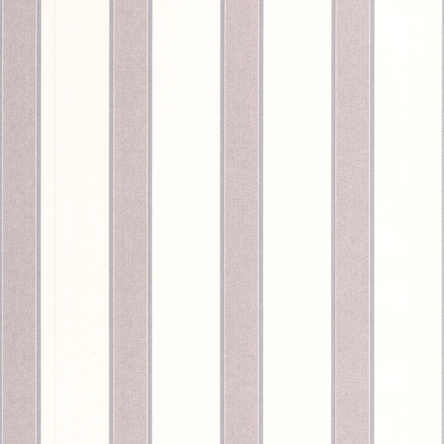 Graham & Brown Botanica White Vinyl Textured Stripes Wallpaper